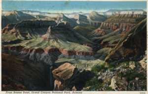 Old Post Card, Grand Canyon.