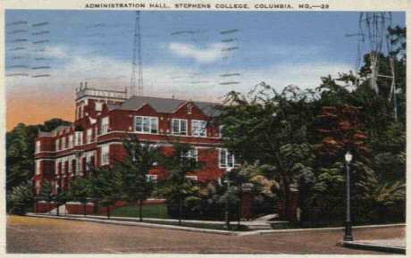 Stephens College Columbia Post Card