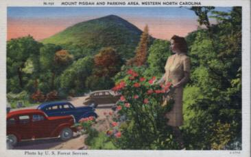 Western North Carolina photo postcard