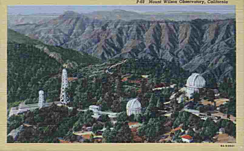 Mount Wilson Observatory located in California