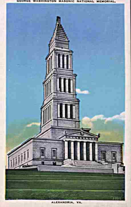 George Washington Masonic National Mermorial Alexandria Virginia